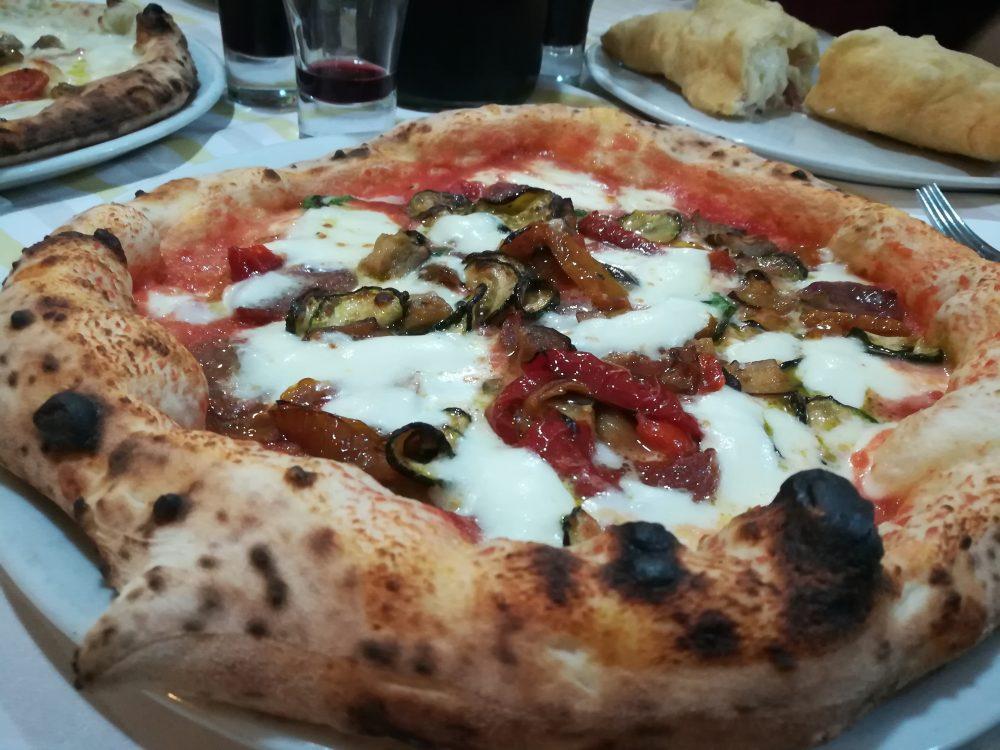 Pizzart - Ortolana con salsiccia secca artigianale