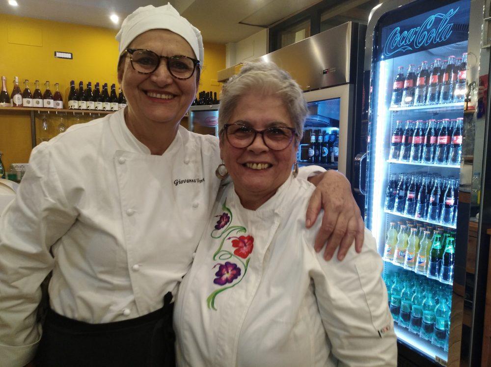 Pizzeria DaZero Giovanna Voria e Maria Rina