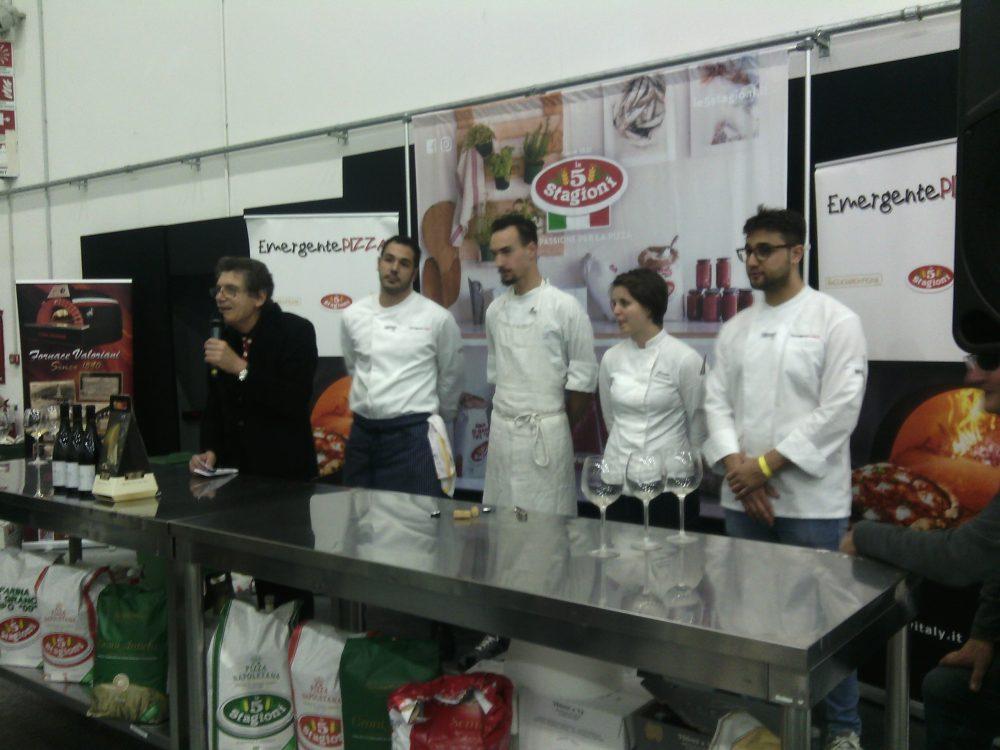 Re panettone- I finalisti dell'ultima batteria del 1 dicembre Emergente Chef Nord