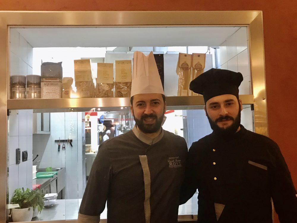 Rovy Ristorante - Daniele Rovezzo e Mattia Allegretto
