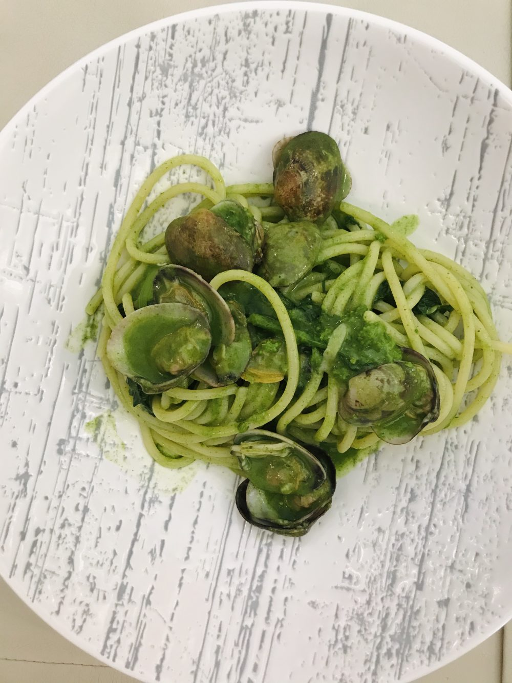 Rovy Ristorante - Spaghetto con broccoli e vongole veraci