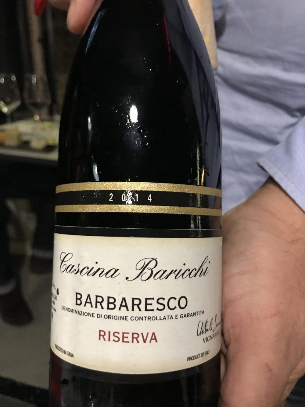 Santo Bevitore - Barbaresco Riserva 2014 Cascina Baricchi