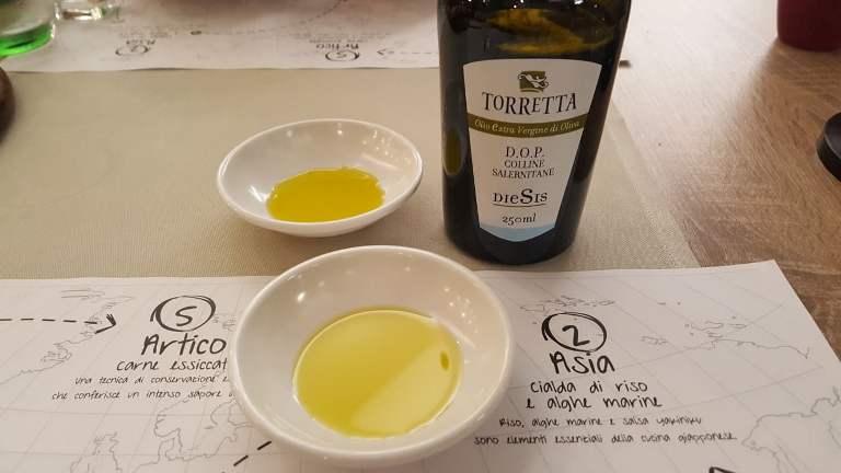 Settanta Neo Bistrot, l'olio La Torretta
