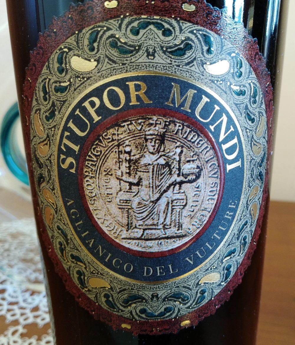 Spupor Mundi Aglianico del Vulture Doc 2014 Carbone vini