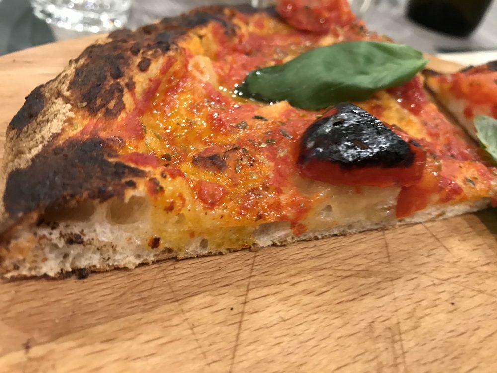 Tempora - sezione pizza nel ruoto