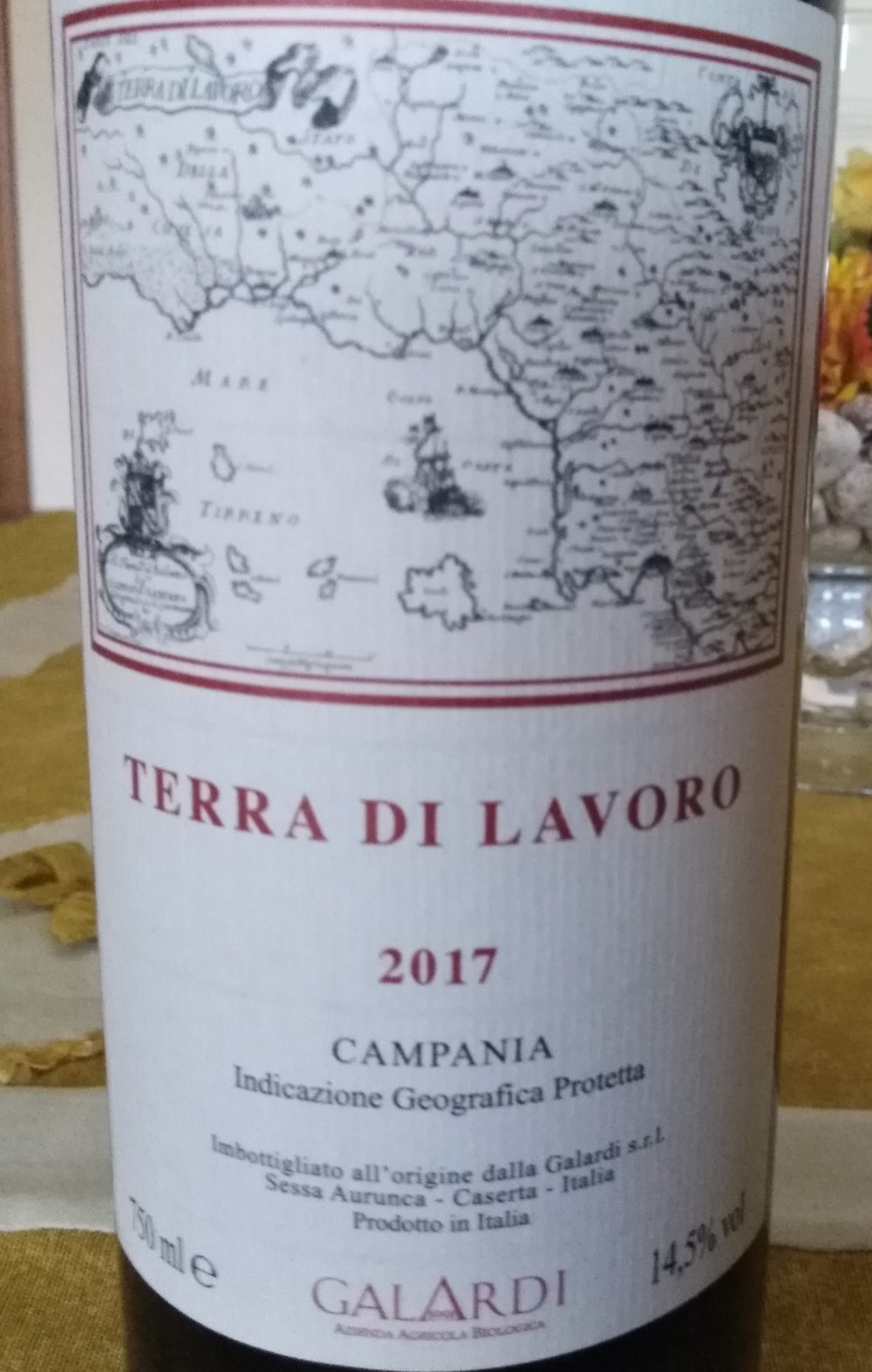 Terra di Lavoro Campania Igp 2017 Galardi