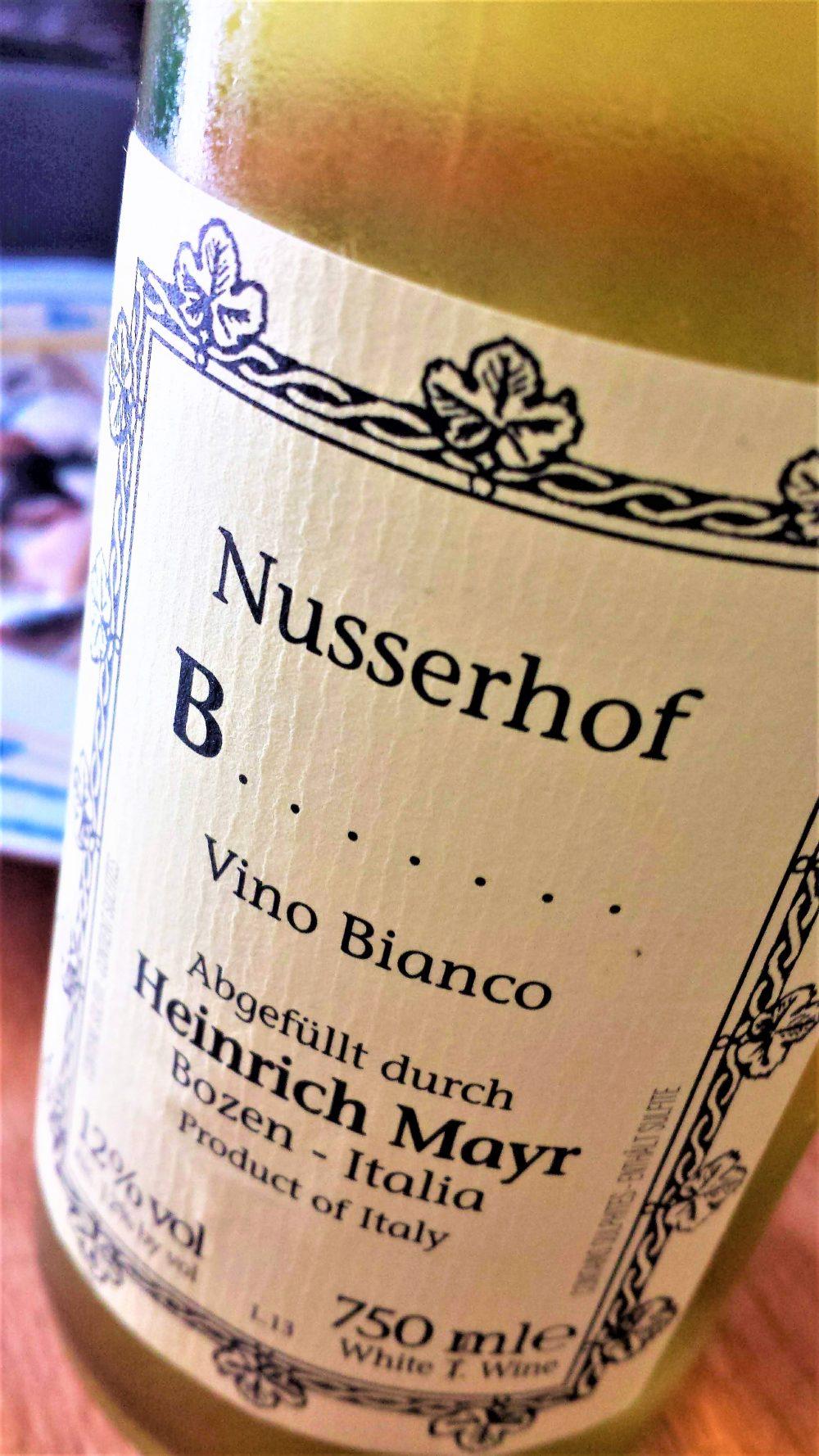 Vino Bianco B......, Nusserhof