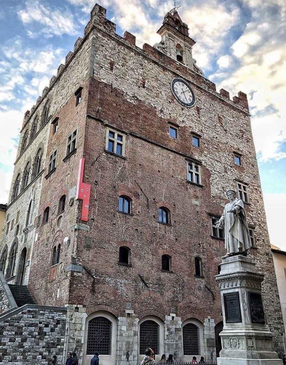 eat PRATO Palazzo Pretorio-quartier generale della manifestazione