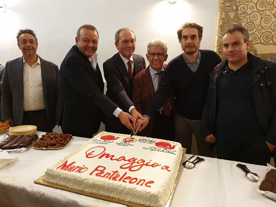 Commemorazione Pantaleone - taglio torta