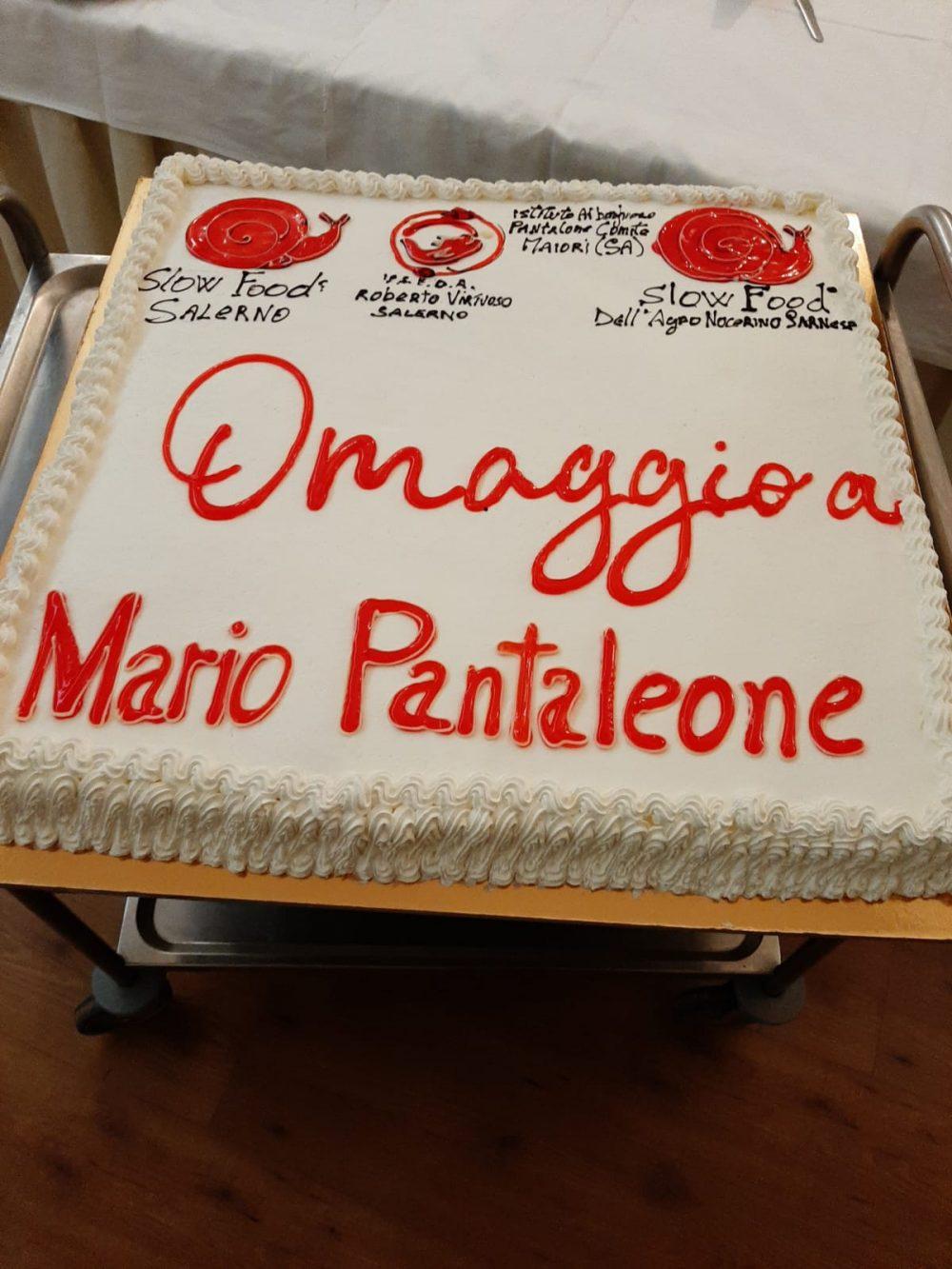 Commemorazione Pantaleone - torta