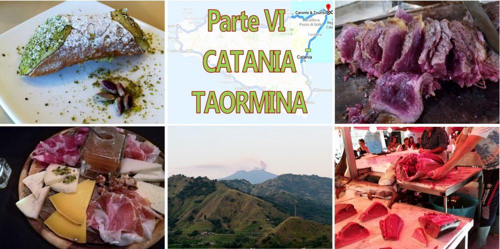 Sicilia VI Catania - Taormina