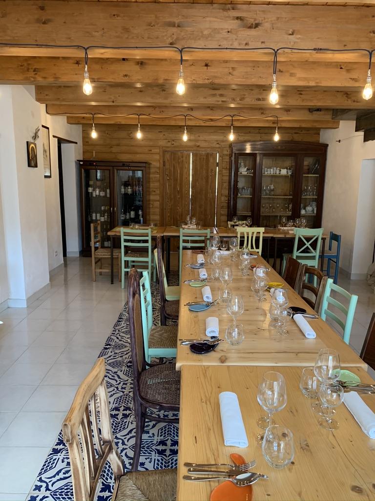 Masseria Sardo - La sala principale