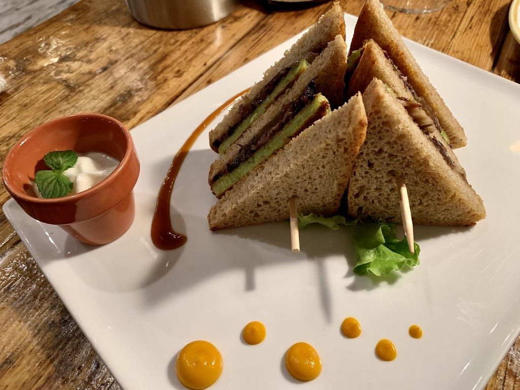 Vero Restaurant - Club Sandwich