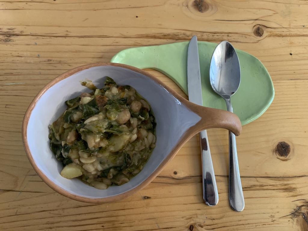 Masseria Sardo - Zuppa fagioli e verdure al mandarino