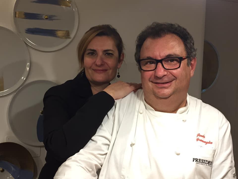Paolo e Laila Gramaglia