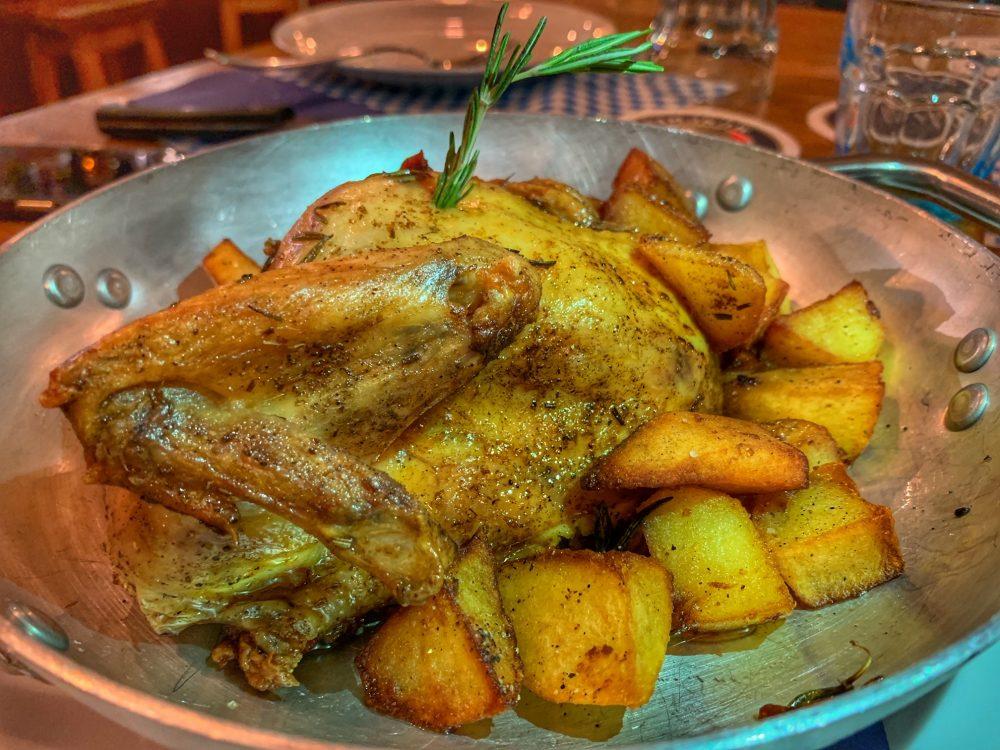 Der Pschorr - pollo arrosto con patate contadine