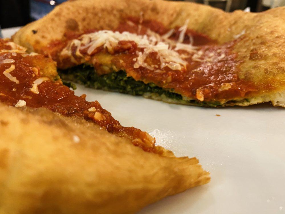 1947 Pizza Fritta - A Dummenc_ friarielli, ragu' napoletano e scaglie di provolone