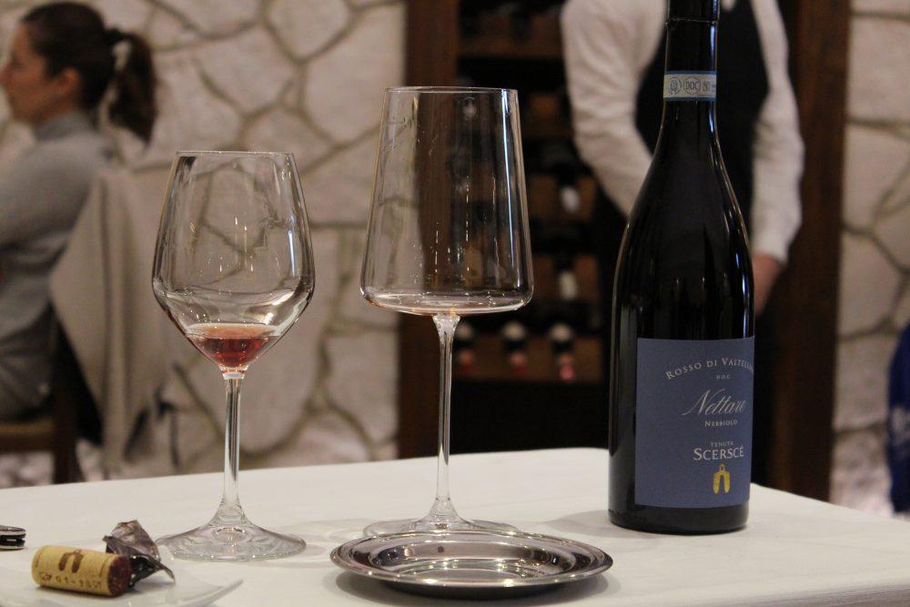 Chichibio - il servizio dei vini