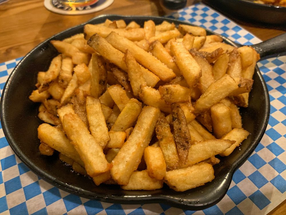 Der Pschorr - patatine fritte