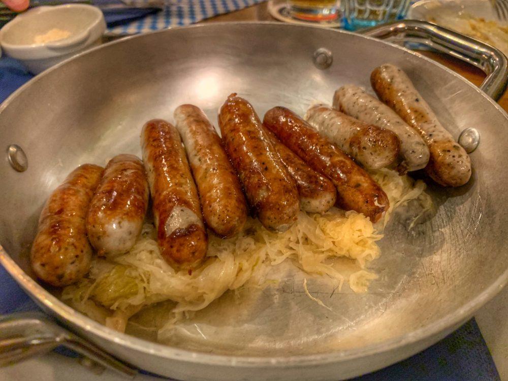 Der Pschorr - salsiccia di Norimberga