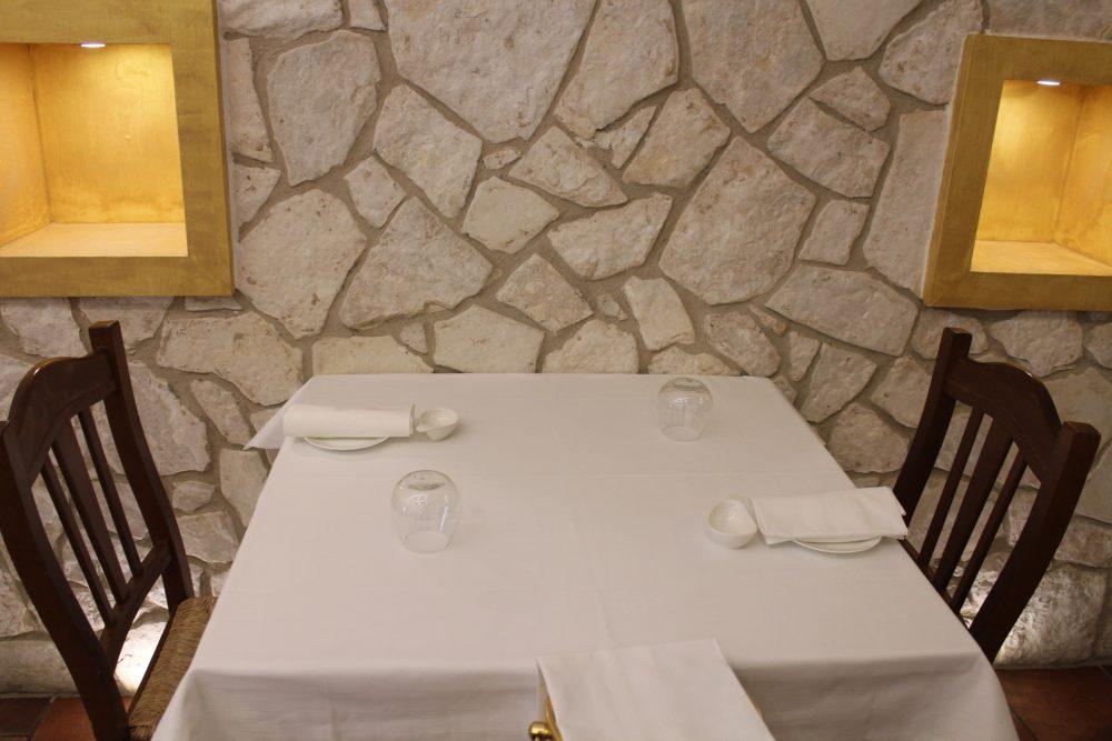 Chichibio - il tavolo