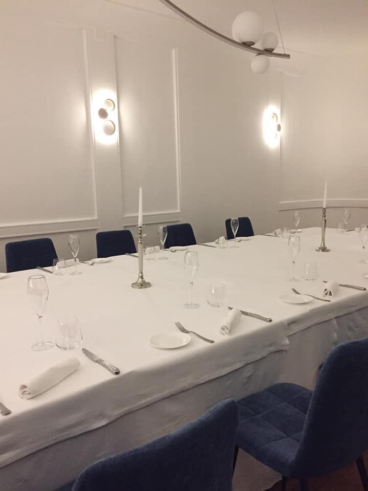 Ristorante Garo', il tavolo 'San Carlo'