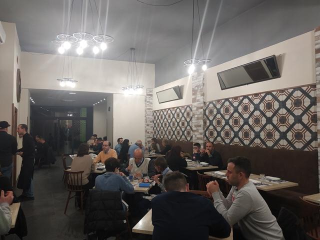 A Rota- Pizzeria Romanesca, la sala
