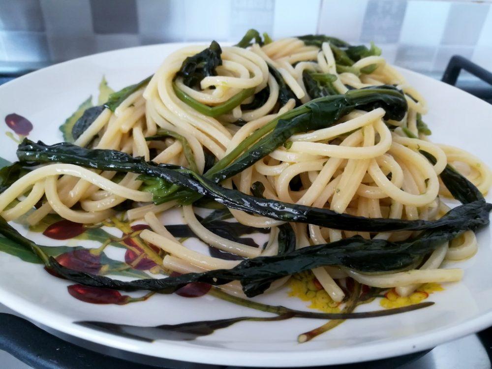 Azienda Agricola Antica Trochlea - Le Lingue di Cane con gli Spaghetti