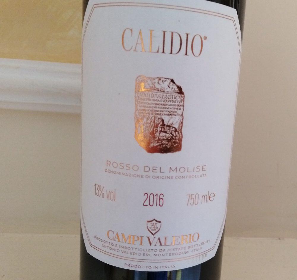 Calidio Rosso del Molise Doc 2016 Campi Valerio
