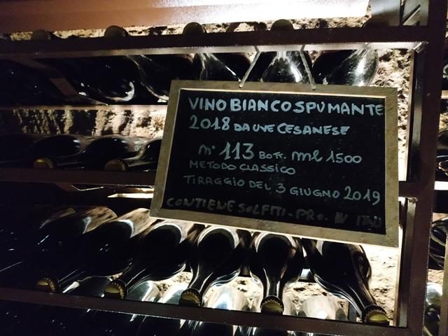 Cantina Imperatori, vino bianco spumante 2018 da uve Cesanese