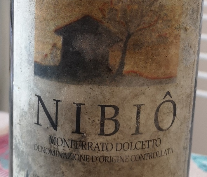 Dolcetto del Monferrato 1998 Nibio, Cascina degli ulivi
