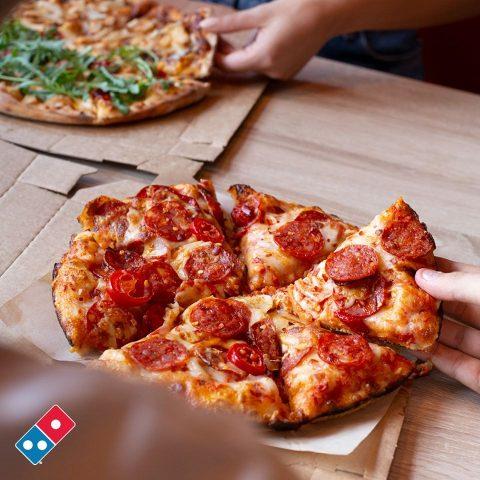 La pizza di Domino's @official fanpage