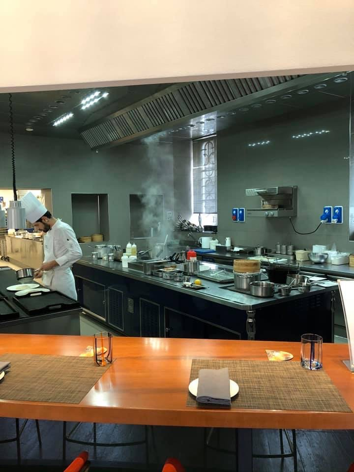 Daniel Canzian, La Cucina a Vista