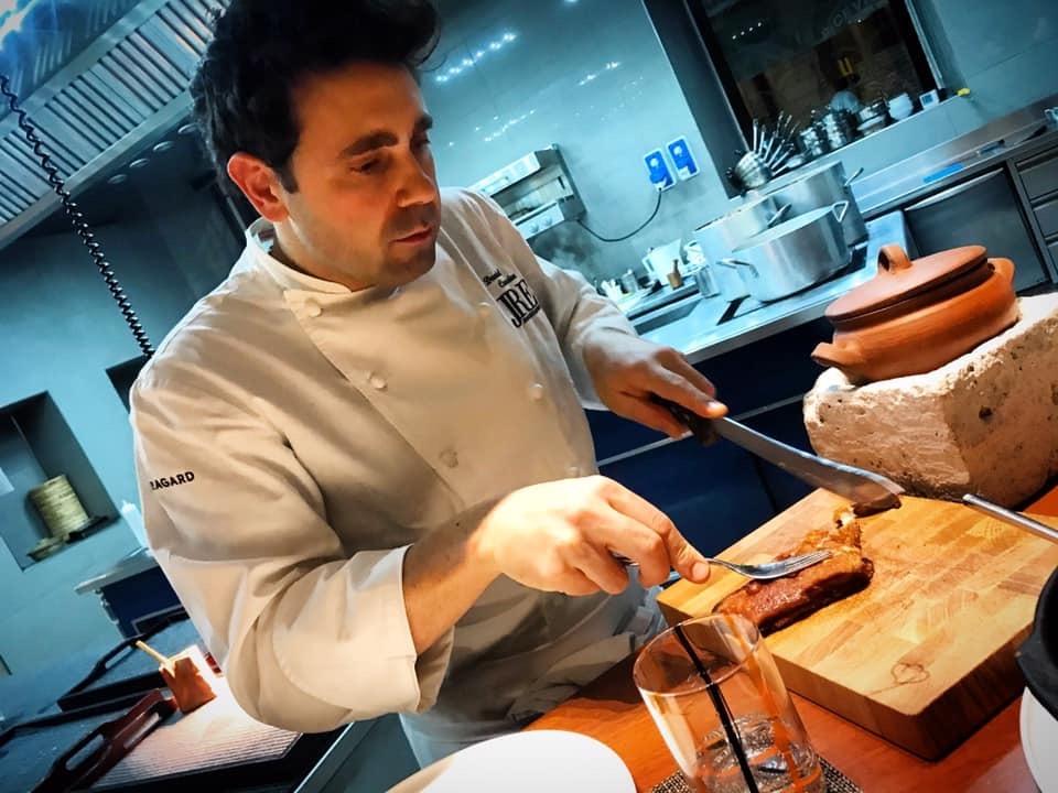 Daniel Canzian, Lo Chef