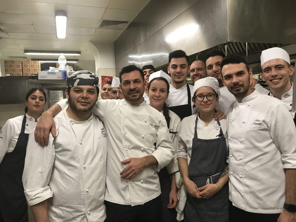 Hotel Cristallo, il Luxury Collection Resort & Spa - Marco Pinelli e brigata di cucina