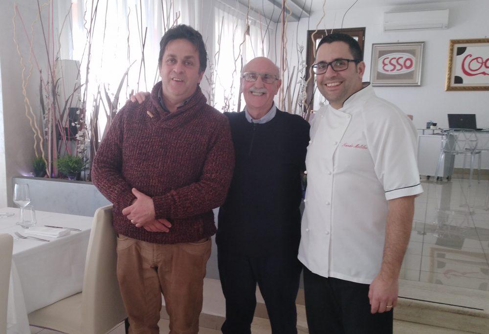 Io tra Mario Riccardi e Nando Melileo