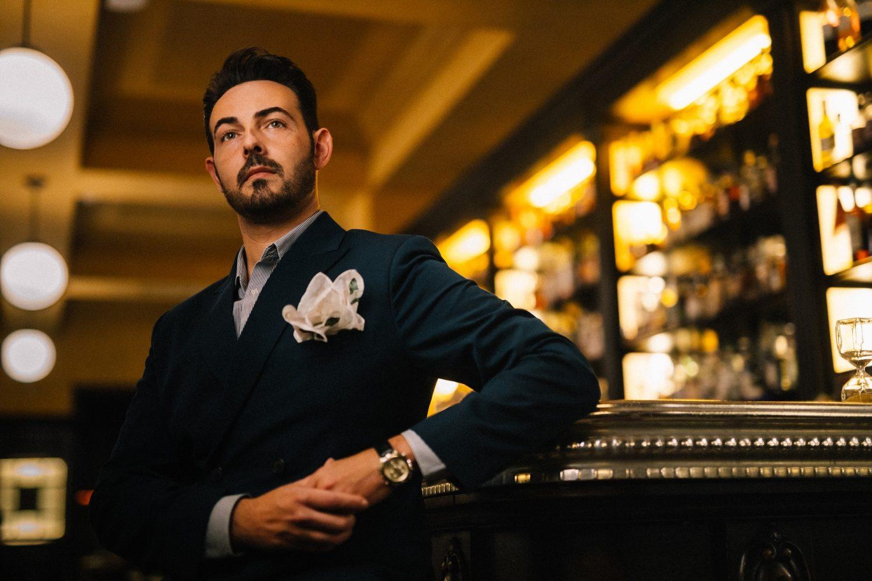 Mario Farulla barmanager Ristorante Baccano di Roma photo by Andrea Di Lorenzo