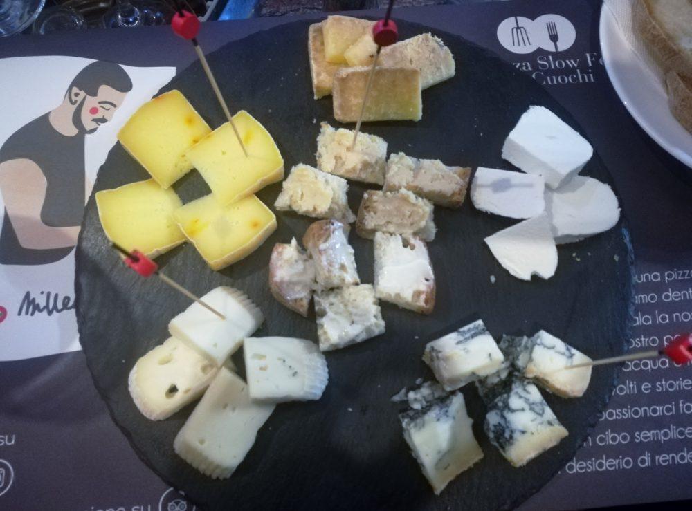 Millenium - La selezione di formaggi della serata