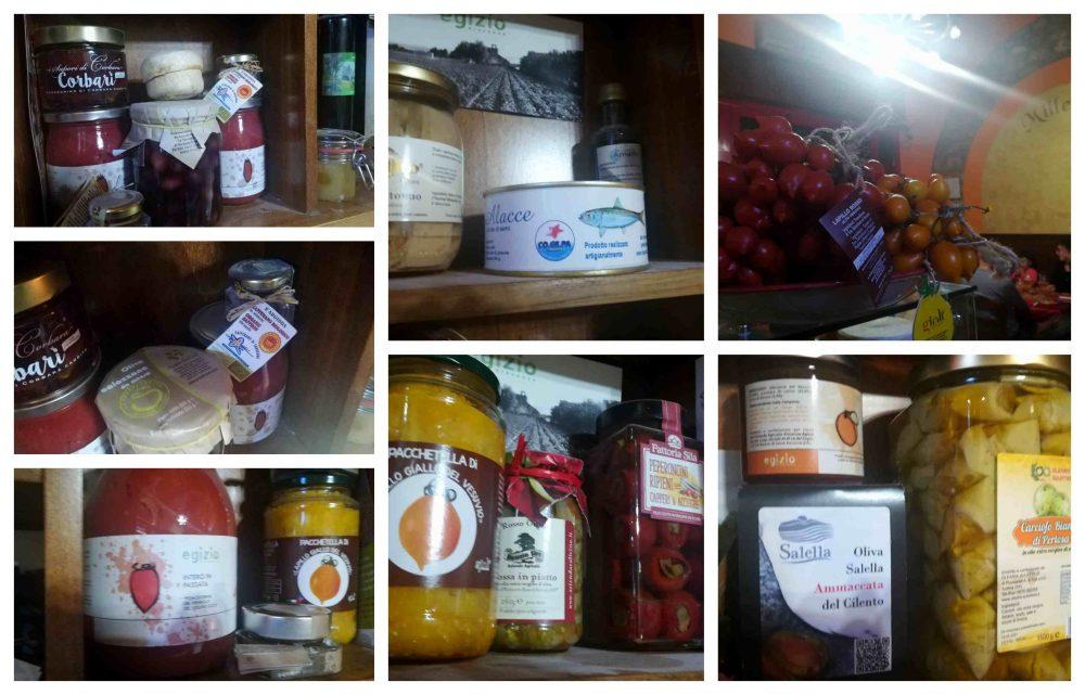 Olio e prodotti della dispensa di Zio