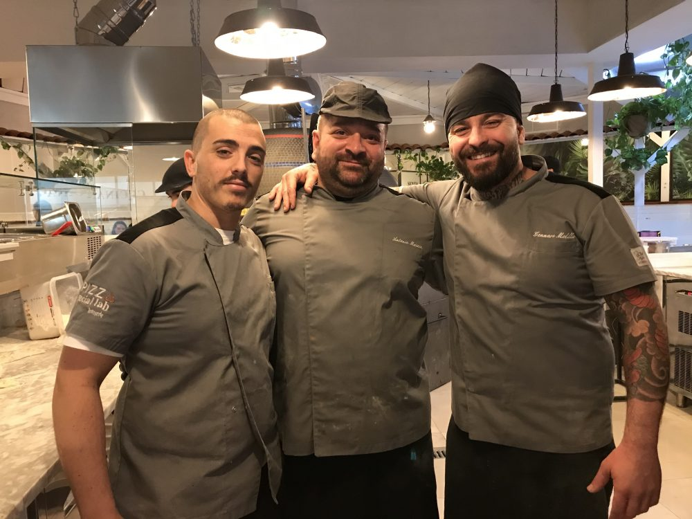 Pizza Social Lab - Rosario Ferraro, Gennaro Melillo, Antonio Mascia