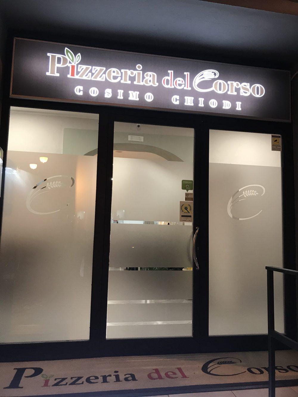 Pizzeria Del Corso - ingresso