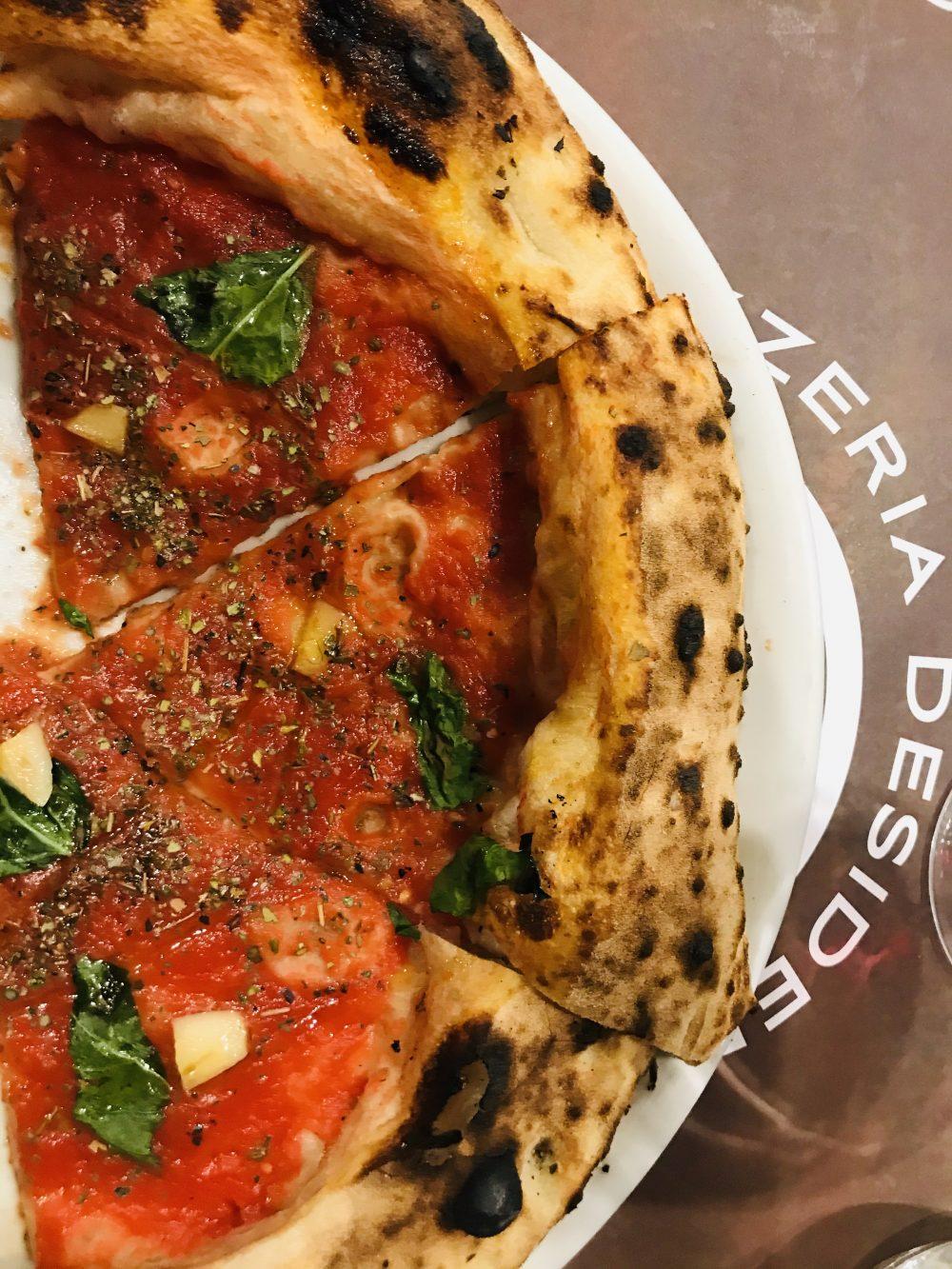 Pizzeria Desiderio - pizza Marinara