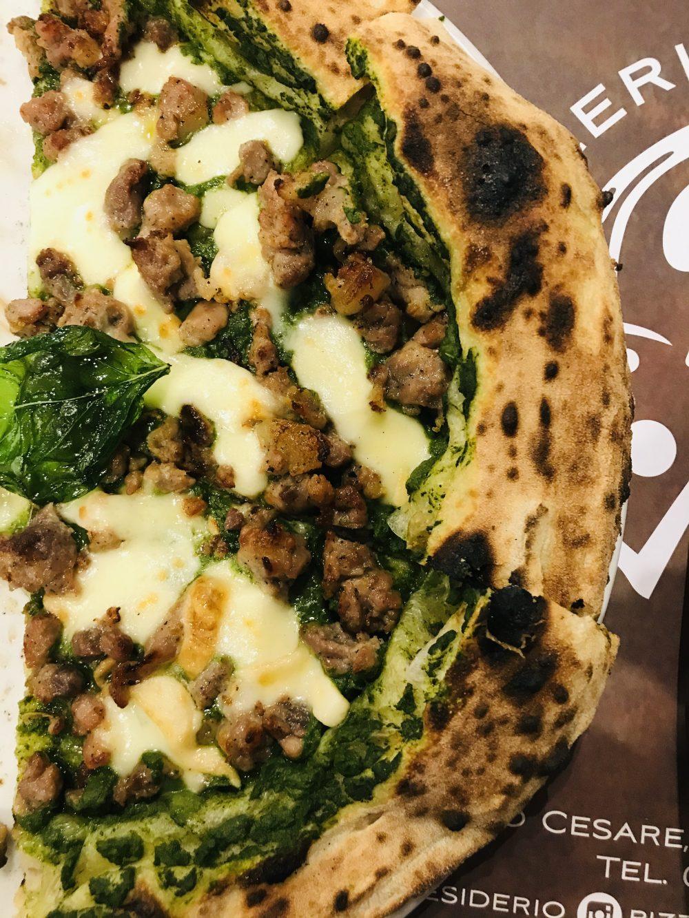 Pizzeria Desiderio - pizza Terra Mia