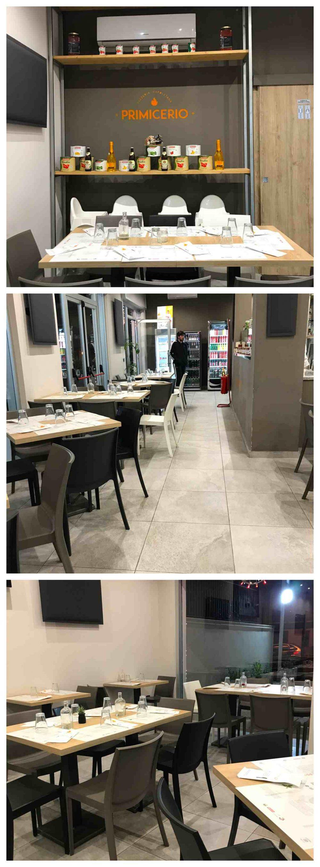 Pizzeria Primicerio - Sala