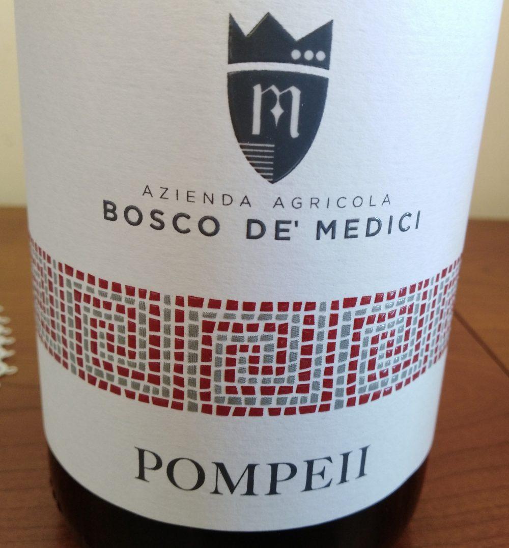 Pompeii Pompeiano Piedirosso Rosso Igt 2018 Bosco De' Medici