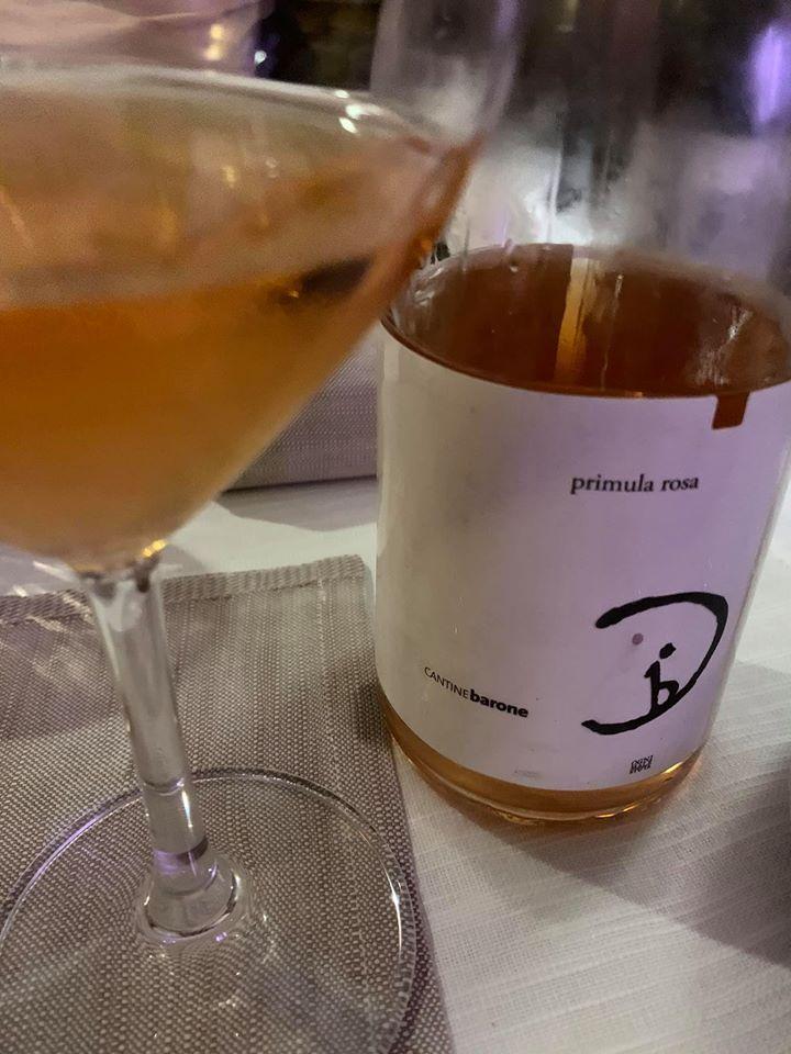 Primula rosa 2018 Paestum igp Cantine Barone