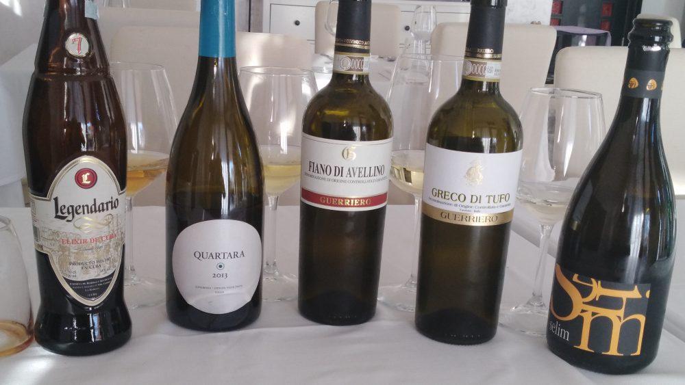 Ristorante Emozionando - Vini degustati
