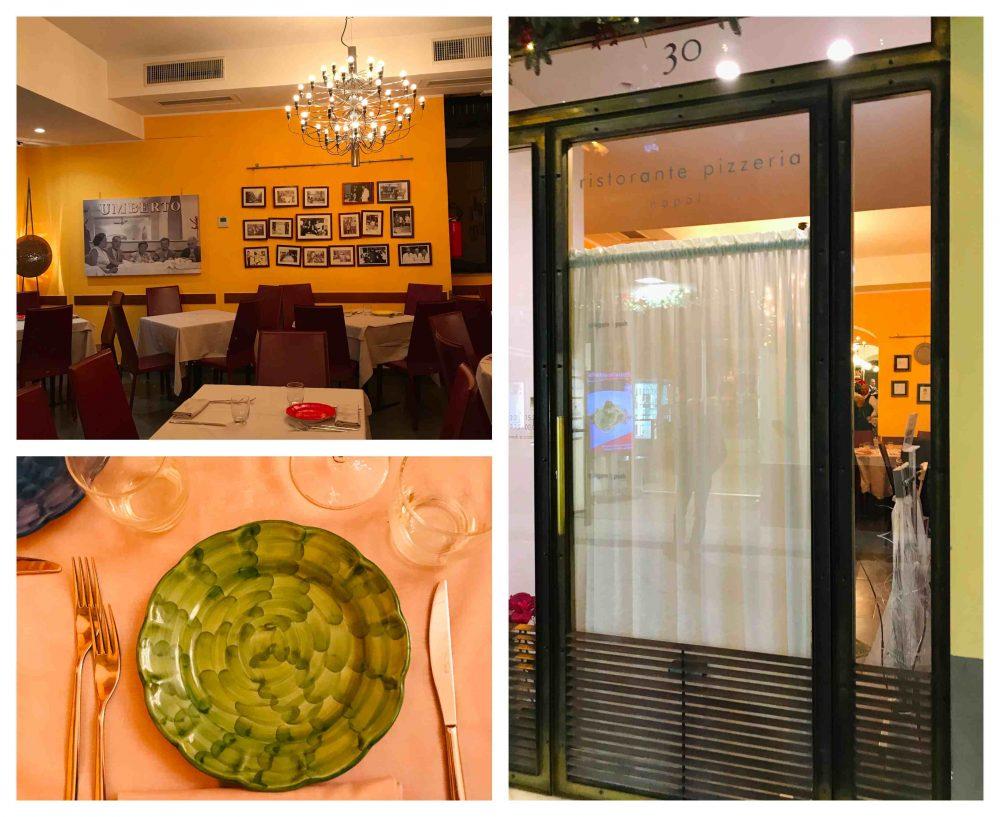 Ristorante Pizzeria Umberto - ingresso e sala