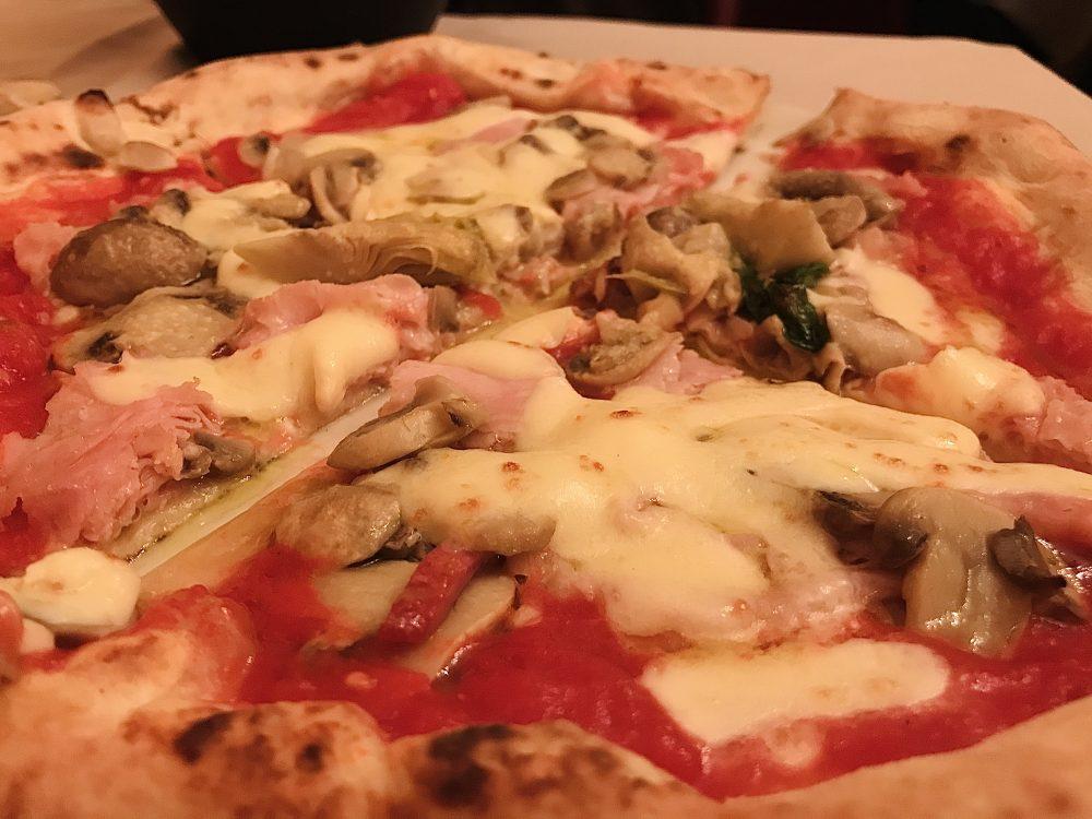 Ristorante Pizzeria Umberto - pizza Capricciosa
