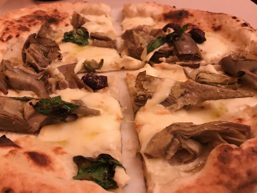 Ristorante Pizzeria Umberto - pizza Carcioffolata